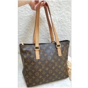 Louis Vuitton Cabas Piano Tote Bag Monogram